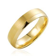 L'alliance Sigolene est un modèle de la collection prestige en or jaune avec une double finition: brossée et polie. Découvrez la sur notre site Internet: http://www.zeina-alliances.com/alliance-breuning/2715-manel.html