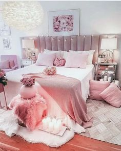 pink room decor Happy Sunday hope everyone had a great day! Make sure to joi.