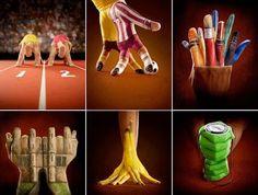 Finger Art - Many