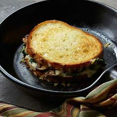 Try a grilled cheese for grown-ups. Broccoli rabe and fontina cheese give this sandwich a lot of flavor.- Visit PaneraBread.com for more inspiration.