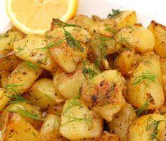 Πατάτες φούρνου με πορτοκάλι και μέλι