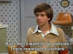 Lol. Eric Forman is too funny. ( that's 70s show.)
