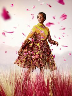 Nothing But the Wax: VLISCO collection : BLOOM