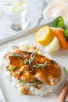 Grilled Chicken with Teriyaki Sauce & $100 Gift Card Giveaway