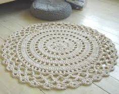 Image result for giant crochet doily rug