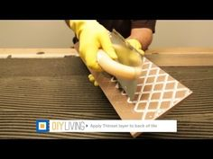 How To Install Tile - DIY Living from BuildDirect.com - YouTube