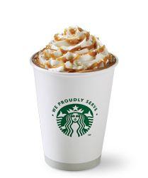 Salted Caramel Mocha Recipe Plus many more recipes from Starbucks Starbucks Recipes, Starbucks Drinks, Coffee Recipes, Drink Recipes, Coffee Drinks, Starbucks Salted Caramel Mocha, Salted Caramel Hot Chocolate, Hot Chocolate Recipes, Yummy Drinks