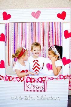 "Photo 4 of 39: Valentine's Day / Valentine's Day ""Love Crush Kids Valentine's Party"" | Catch My Party"
