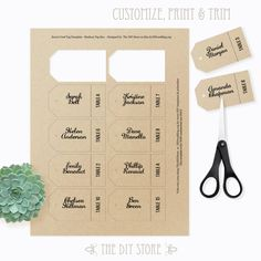 Save The Date Hang Tag For Mini Champagne Bottle  How To Create