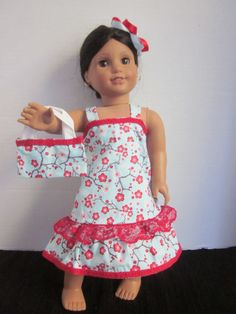 18 Inch Dolls American Girl Our Generation by SweetpeasBowsNmore, $15.00