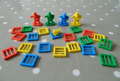 Hook the Crook Game Pieces, Policeman, Dog, Prison Bars - Crafts Cake Decorating Listing in the Game Pieces & Parts,Games,Toys & Hobbies Category on eBid United Kingdom