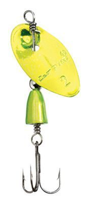 Eco Pro Spins Tungsten Inline Spinners - 1/6 oz. - Crazy Chartreuse