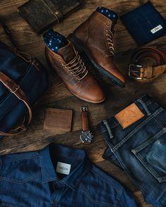 Jean Pas Cher, Parka, Pantalon Slim Fit, La Mode Masculine, Adventure Style, Bean Boots, Fashion, Man Jeans, Men Styles
