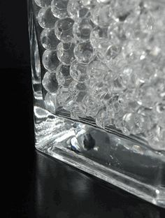 $15/ 5 gallons Clear Water Pearls (water holding vase gems)