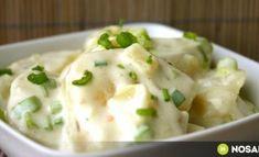 Startlap recept Kefir, Soup And Salad, Potato Recipes, Salad Recipes, Potato Salad, Mashed Potatoes, Delish, Salads, Food And Drink