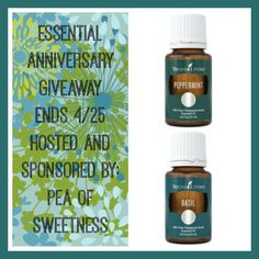 Enter to Win Essential Anniversary Giveaway Ends 4/25