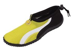 Womens Water Shoes Aqua Socks Pool Beach YogaDance and Exercise 10 Yellow 2906 >>> Want to know more, click on the image.Note:It is affiliate link to Amazon.
