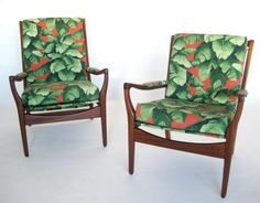 "Chair Bro - Cintique ""Havana"" vintage armchairs (Pair)"