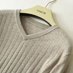 Buy 2017 Winter Mens Cashmere Sweater Thick Warm V-neck Solid Color Sweater Men Slim Fit Pullover Knitted Sweaters Cashmere Sweater Men, Men Sweater, Knit Shirt, Summer Looks, Mens Fashion, Daily Fashion, V Neck, Slim, Pullover
