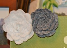 JessaJill: Felt Flowers Tutorial