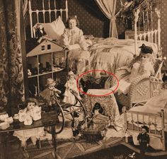 Judith Tompkins was only eight years old when she disappeared in the late 1800's, Her father was rich and he dabbled in photography. This was the last image taken of Judith before she disappeared. Her father died in prison after being convicted in her disappearance. This image shows a hint that something else may have been at work.    Mr. Quiet Movie  http://kck.st/MSaOZA