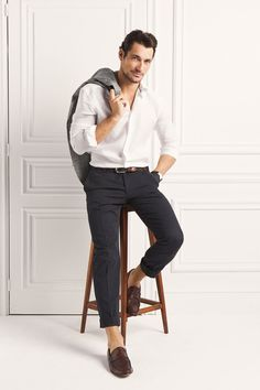 David Gandy For Massimo Dutti The NYC Limited Edition ~ David James Gandy