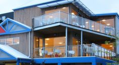 The Island Accommodation Newhaven This eco-friendly complex is situated on Phillip Island and offers a variety of accommodation options, right by the Big Wave Complex. Guests enjoy a rooftop terrace offering 360-degree ocean views.