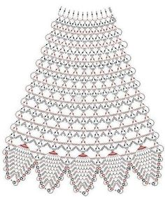 Patrones de vestidos tejidos a crochet para Barbies ll - women Life ideas Crochet Skirt Pattern, Crochet Skirts, Crochet Diagram, Crochet Stitches Patterns, Crochet Chart, Crochet Motif, Crochet Dolls, Crochet Clothes, Knitting Patterns