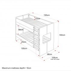 Bunk Bed Dimensionsbunk
