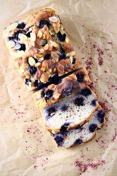 Gluten-Free Vegan Blueberry Banana Bread