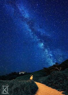 Under the milky way | Brittany, France