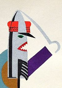 These children's book illustrations from 1950 Poland are marvelous (and some are a shade grim)