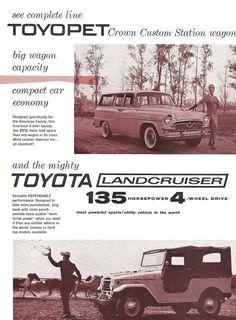 Early Toyota in USA | Original USA market advertising brochu… | Flickr