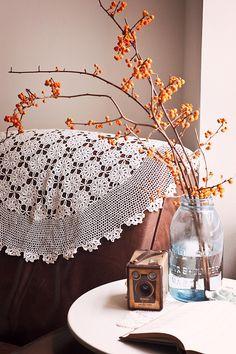 nice fall arrangement. travelingmama via flickr