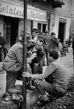 Henri Cartier-Bresson Castelfiorentino, Tuscany, Italy 1953
