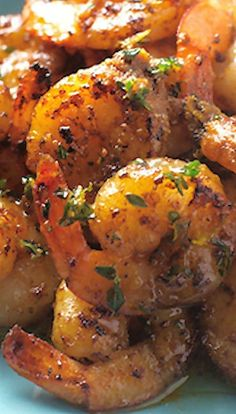 Spicy Shrimp with Orange Brown Butter Sauce