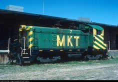 RailPictures.Net Photo: MKT 7 Missouri, Kansas & Texas Railroad (Katy) EMD NW2 at Denison, Texas by David Hawkins