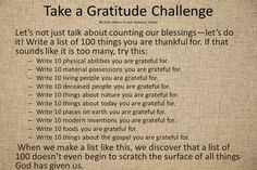 Gratitude Challenge - have posters around the room for sisters to write their blessings on. Gratitude Journal Prompts, Gratitude Quotes, Attitude Of Gratitude, Faith Quotes, Affirmations, Religion, Grateful Heart, Relief Society, Writing Prompts