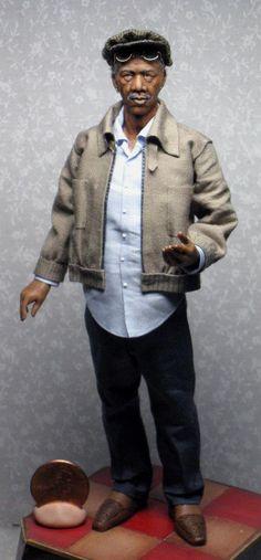 Morgan Freeman. By Sharon Cariola.