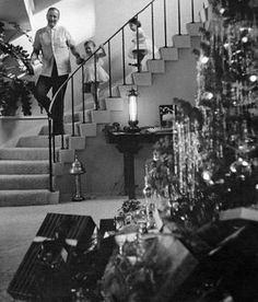 John Wayne with his children ... Christmas 1958