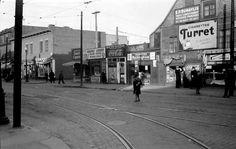 Rue Ontario, coin Papineau - 1937