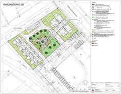 Taloyhtiöpihan suunnitelma - Landscape plan