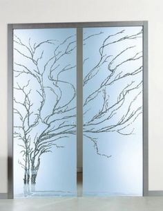 Window privacy decal butterflies etched or frosted glass privacy love these sliding doors barndoorhardware modern hardware specialty planetlyrics Choice Image