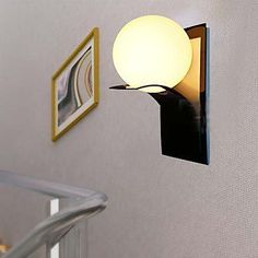 find more wall lamps information about modern metal globe led wall lights bedroom bedside ball wall