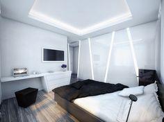 Tron bedroom