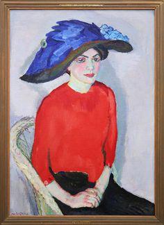 Jan Sluijters, Vrouwenportret in het rood. The Netherlands