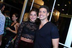 Cauã Reymond e a namorada, Mariana Golfarb, vão juntos a show no Rio na última sexta-feira, dia 11 d... - AGNews