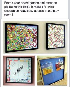 Great idea for the playroom