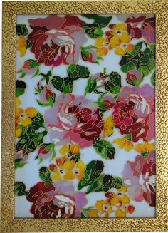 Картинки по запросу роспись по стеклу цветы