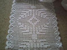 trilho de mesa tulipas de croche - Pesquisa Google